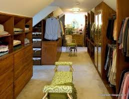 traditional closet by interiors unleashed attic bedroom