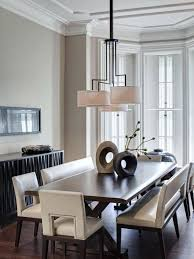 Outstanding Modern Dining Room Table With Bench 47 In Dining Room