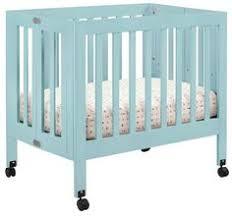 Babyletto Origami Mini Crib Elaine will officially outgrow her
