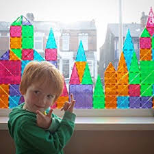 Valtech Magna Tiles Canada by Magna Tiles 02132 Clear Colors 32 Piece Set By Valtech Since 1997