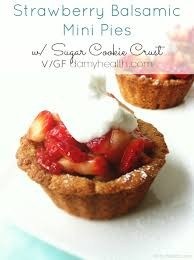 Gluten Free Vegan Strawberry Pies 1