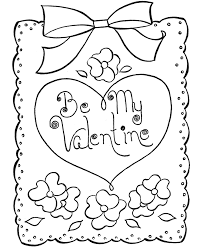 Color Number Coloring Pages Valentine Math