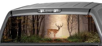 Rear Window Graphics, Deer In Woods Huge Soaring Bald Eagle Rear Window Decal Decals Sticker 6eagle Car Window Graphics Allen Signs Skulls Truck Rear Decal Xtreme Digital Graphix Pickup Decals American Flag Eagle Pickup Graphic Dodge Ram For Sale Bahuma Sticker Best In Calgary For Trucks Cars Realtree Camo 657332 Thin Blue Line Police Support American Flag Logos Bds Suspension Vehicle Vinyl Amazoncom Amer In God We Trust 17 Inches By 56