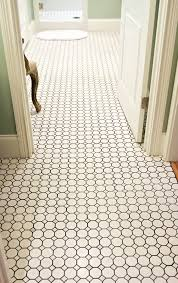 white hexagon floor tile zyouhoukan net