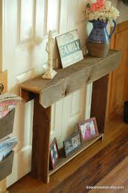 Narrow Sofa Table Australia by Very Narrow Entry Table We Don U0027t Have Room For Anything More Than