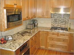 granite countertop of image of glass tile backsplash ideas