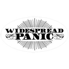 Widespread Panic Halloween 2017 by Widespread Panic Sunburst Sticker Liquid Blue