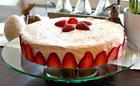 low carb erdbeer mascarpone torte