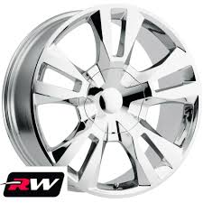 100 20 Inch Truck Rims Inch X9 RW Tahoe RST 18 Wheels For GMC Chrome 6