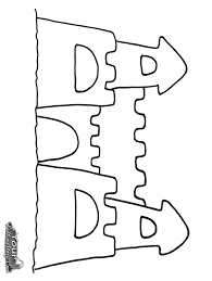 Sand Castle Drawing At Getdrawings Com Free For Personal Use Inside