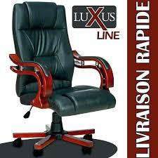 fauteuil de bureau cuir achat fauteuil bureau chaise cuir et bois achat fauteuil bureau
