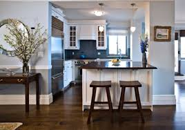 blue and white kitchen cabinets smith design cool blue and
