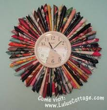 31 Newspaper Crafts Recycled Magazine For How To Make A Clock School Project