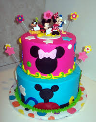 Mickey Mouse Clubhouse Birthday Cake Design — C BERTHA Fashion