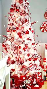 Red And White Christmas Tree Blue For Sale