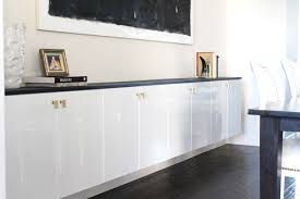 Dining Room Buffet Ikea Lovely Floating Cabinets Are Done Made By Girl Of