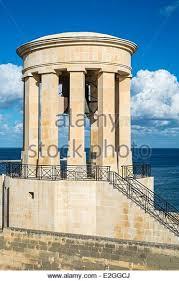 unesco siege siege bell memorial la valletta stock photos siege bell memorial