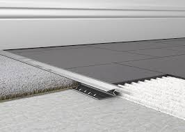 transition between carpet and ceramic tile carpet