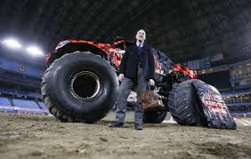 Thank God For The Crotch Strap When You're Riding A Monster Truck ...