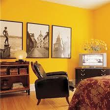 gelbe wände im schlafzimmer kreative wandfarben ideen