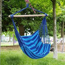 Moontree Hammock Swing Bed Hanging Rope Chair Swing Chair Hammock