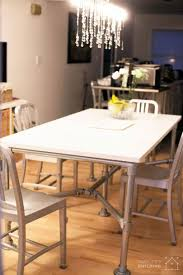 Learn How To Build This Table In DIY Quartz Dining Built With Pipe
