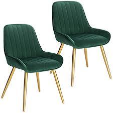 lestarain 2 stücke esszimmerstuhl retro küchenstuhl wohnzimmerstuhl sitzfläche aus samt retrostuhl mit metallbeine besucherstuhl stuhl für esszimmer