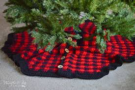 Ravelry Plaid Tree Skirt Pattern By Bethany Dearden