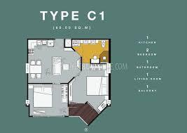 104 Two Bedroom Apartment Design Ban6441 In New Condominium In Bang Tao Phuket Buy House