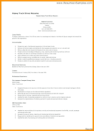 Resumes For Truck Drivers School Bus Driver Resume No Experience Exas Of