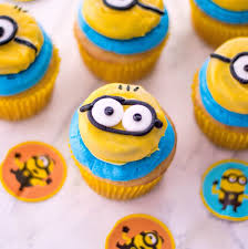 Easiest Ever Minion Cupcakes Recipe