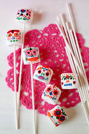 Easy Sugar Skull Day Of by Day Of The Dead Marshmallow Sugar Skull Pops Food Tips U0026 Advice