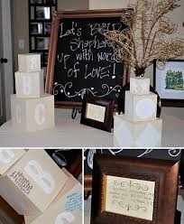 Rustic Glam Baby Shower