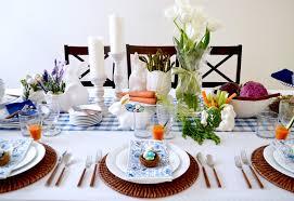 SETTING THE TABLE FOR EASTER BRUNCH Table Dine By Deborah Shearer