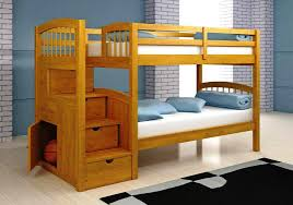 simple wood bunk bed plans easy 6472