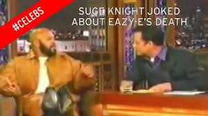 Eazy E Death Bed by Shocking Footage Of Suge Knight Joking About Eazy E U0027s Death From