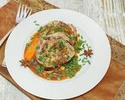 comment cuisiner la tete de veau recette tête de veau en potée sauce gribiche