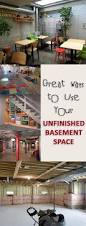 Diy Unfinished Basement Ceiling Ideas by Best 25 Unfinished Basement Ideas Diy Ideas On Pinterest