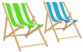 Pool Chair Top View Png Beach Chairs Clip Art Black And White Library