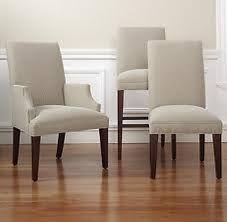 Stylish Dining Room Chairs With Arms Outstanding Upholstered Parsons
