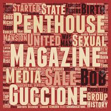 100 Penthouse Maga Zine A History Text Background Wordcloud Concept