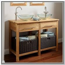46 Inch Bathroom Vanity Without Top by Vanities Without Tops Bathroom The Home Depot Throughout Vanity