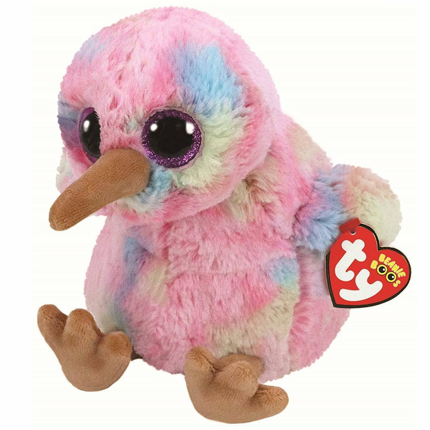 TY Beanie Boo's Plush - Multicoloured Kiwi