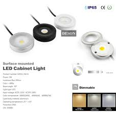 3w dimmable led cabinet light puck light ultra bright warm