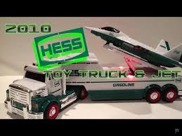 Video Review Of The Hess Toy Truck; 2010 Hess Toy Truck And Jet ...