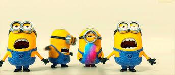 Happy Birthday Minions Gif Animated Pic