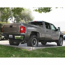100 2010 Chevy Truck 47784 Monster Exhaust System Single Exit Chrome Tip For Use With