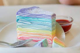 regenbogen crêpe kuchen rezept womz