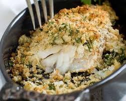 recette cuisine poisson recette poisson en croûte d herbes facile rapide