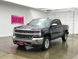 100 Used Truck Values Nada PreOwned 2017 Chevrolet Silverado 1500 LTZ In Coeur DAlene